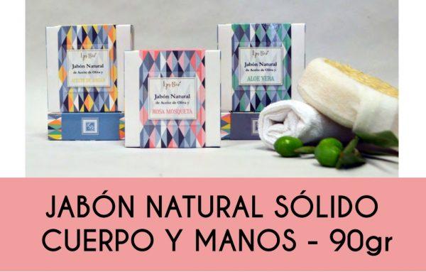 Jabón natural sólido cuerpo y manos Le parfum secret