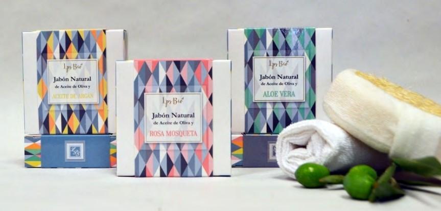 Jabón natural sólido cuerpo y manos le parfum secret bio